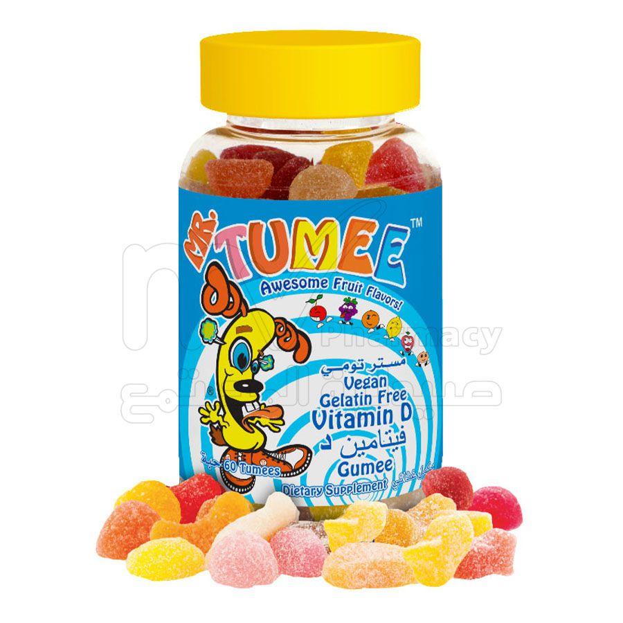 مستر تومي فيتامين D ، أقراص مضغ ، 60 حبة