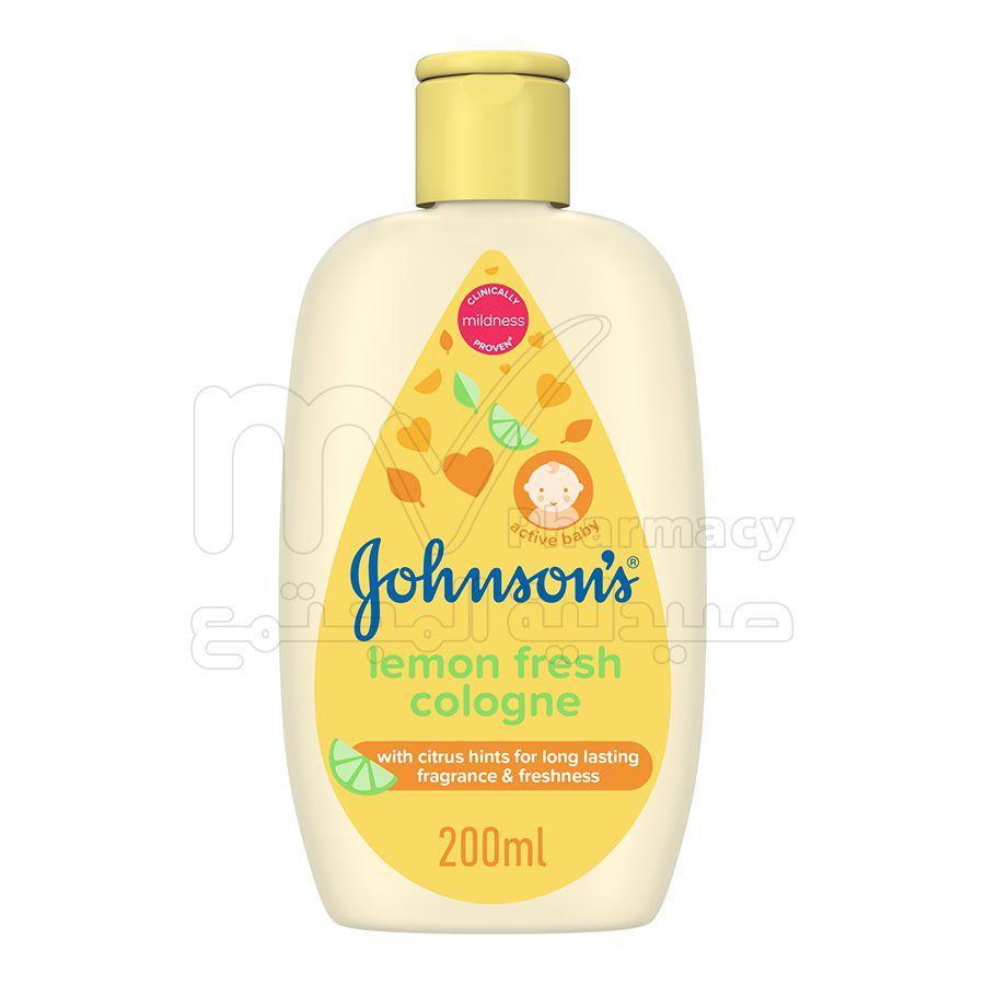 جونسون ، كولونيا اطفال ، الليمون المنعش ، 200 مللي